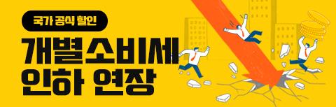 개별소비세 인하 연장